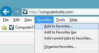 add favorite internet explorer, add web page to favorites, add website to favorites, bookmark a website, favorites bar, how to add a website, internet explorer add webpage to favorites, website favorites