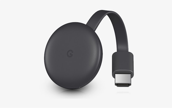 Connect to the TV with Chromecast