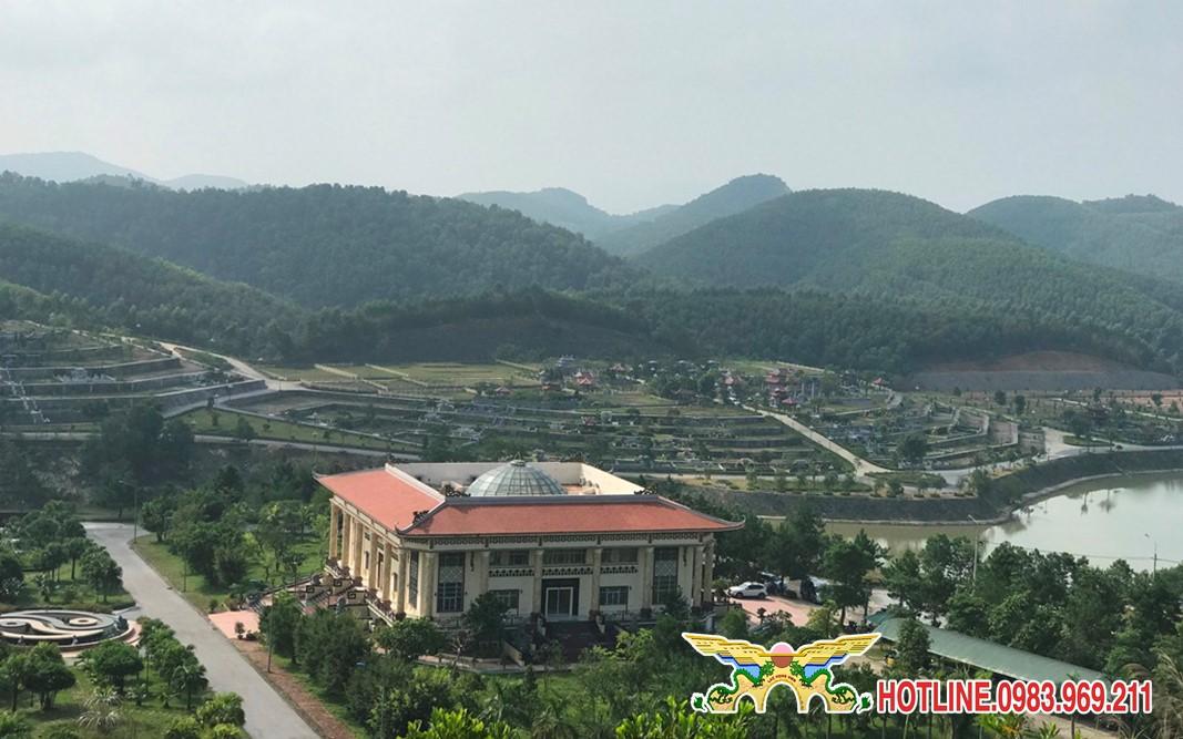 Đồi Kim Quy - Khu đồi chuẩn phong thủy của công viên nghĩa trang Lạc Hồng Viên