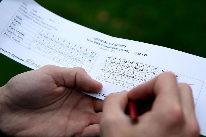 Tính điểm Golf theo Par