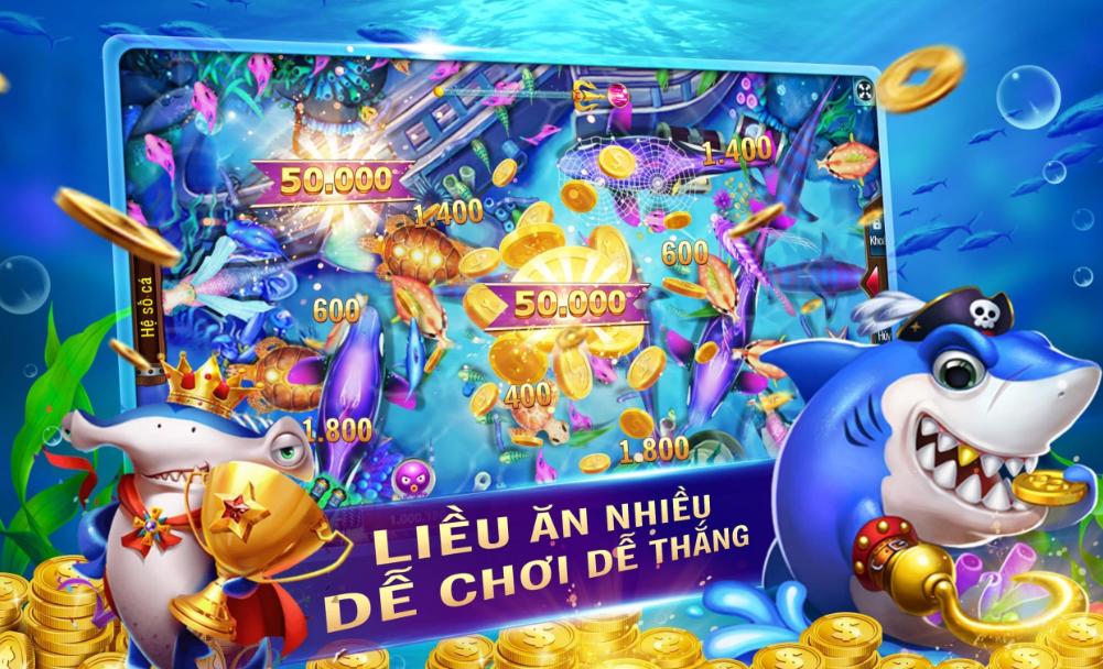Bắn cá online trò chơi hấp dẫn
