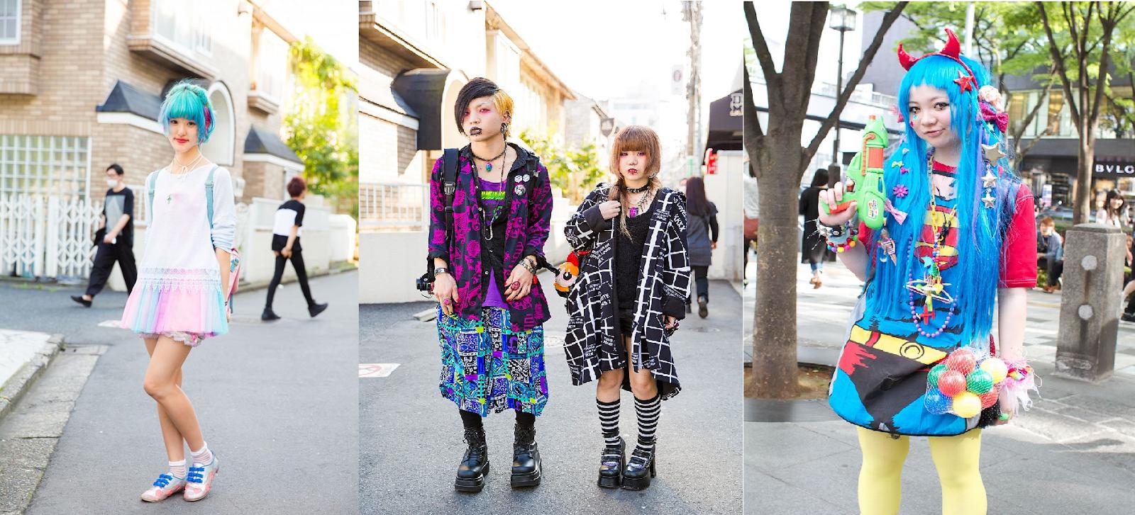 subculturas en las calles de Harajuku