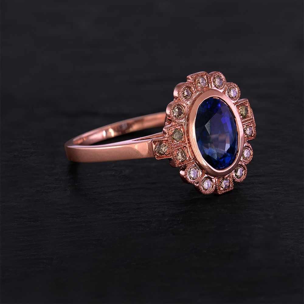 A Trend Here to Stay Rose Gold Engagement Rings Tracy Matthews