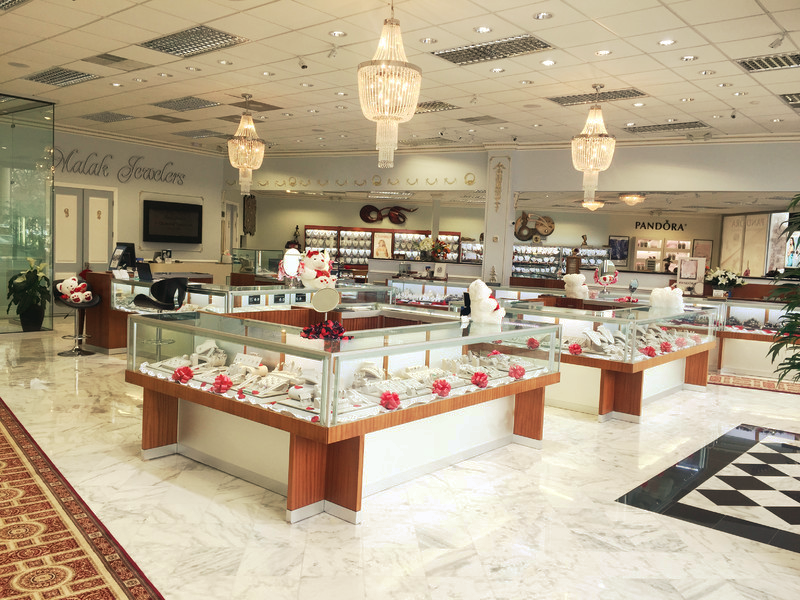 The Malak Jewelers Showroom