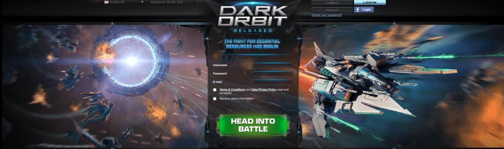 Dark orbit reloaded browser game