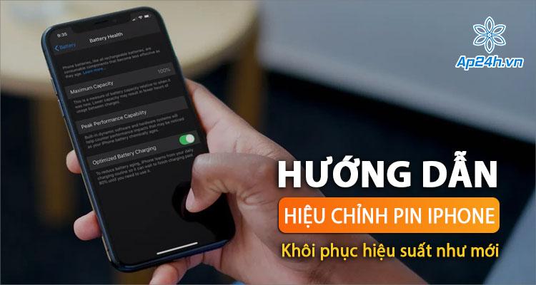 Cách hiệu chuẩn lại pin iPhone như mới