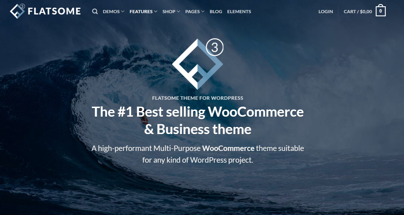 Flatsome best WordPress theme