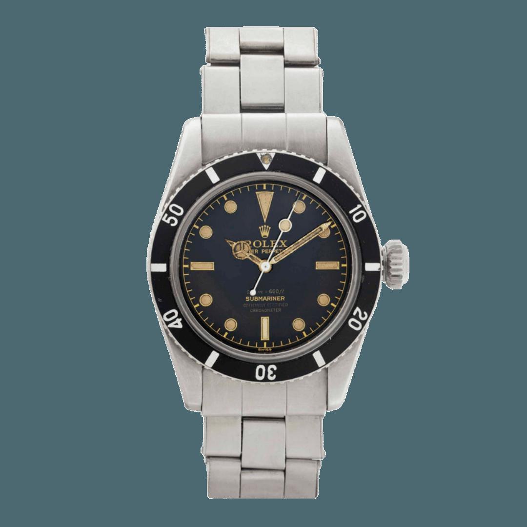 Photo of a Rolex Submariner Ref. 6538