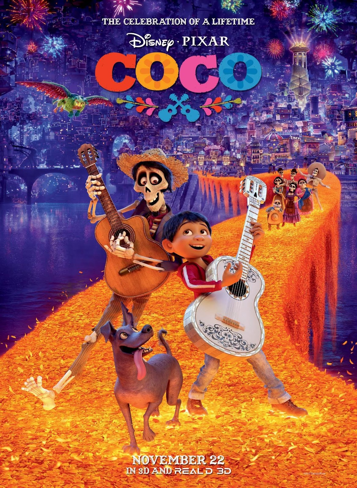 Official poster of Coco (2017)