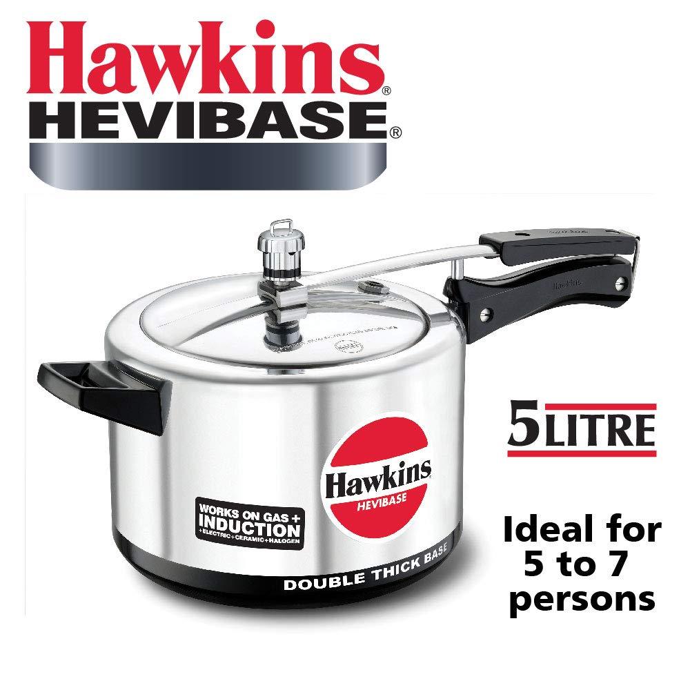 Hawkins Hevibase Aluminum Induction Model Pressure Cooker