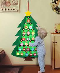Amazon.com: OurWarm Christmas Advent Calendar for Kids, 2020 24 Days Felt  Christmas Tree Countdown Calendar Flip Pattern and Number for Home Holiday  Christmas Decorations: Home & Kitchen