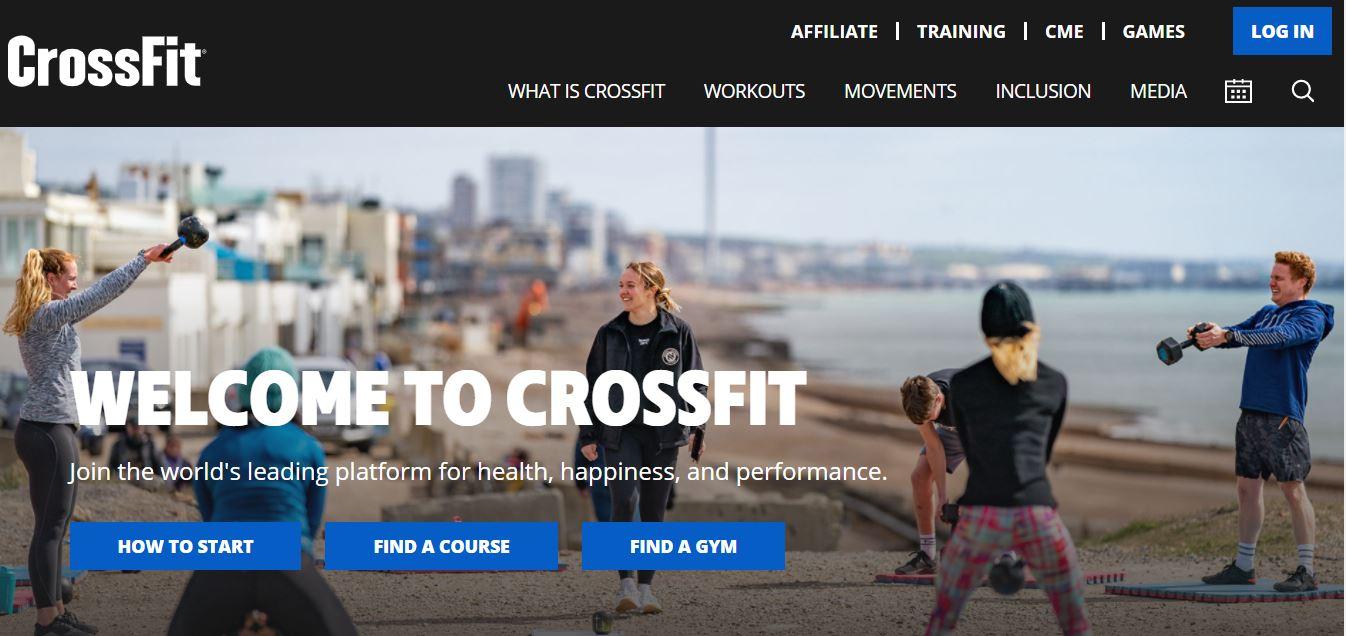 CrossFit website.