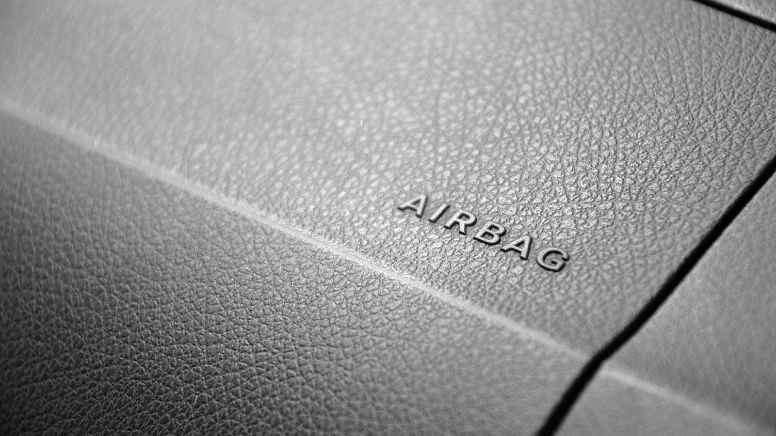 Passenger side airbag