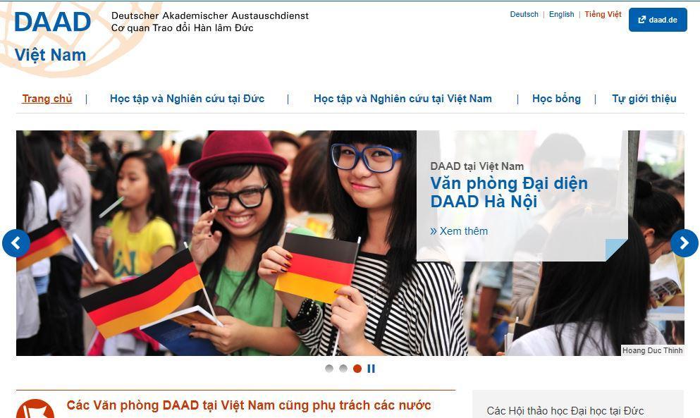 DAAD cung cấp nhiều thông tin bổ ích về du học Đức