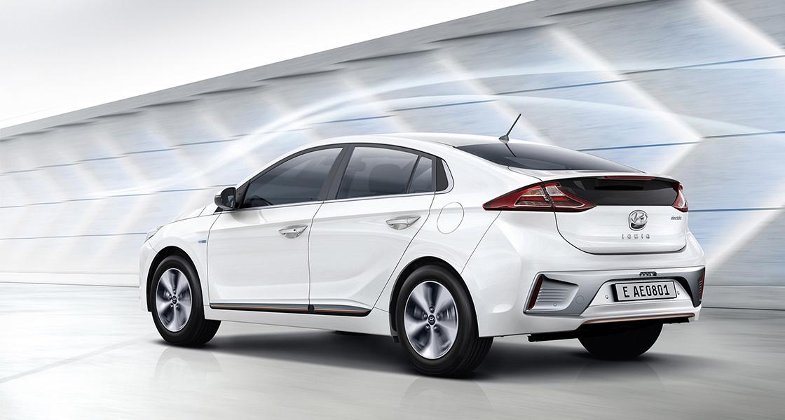 ภายนอกของ Hyundai Ioniq EV 2019 เน้นความหรูหรา