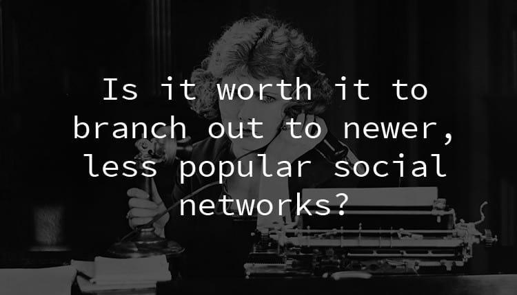 Mạng xã hội mới và đang phát triển là gì?