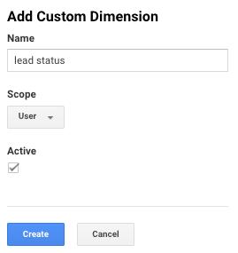 add custom dimension in ga.