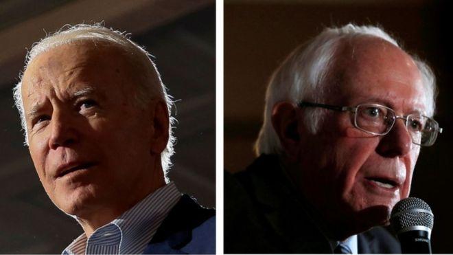 Super tuesday: Biden vs Sanders