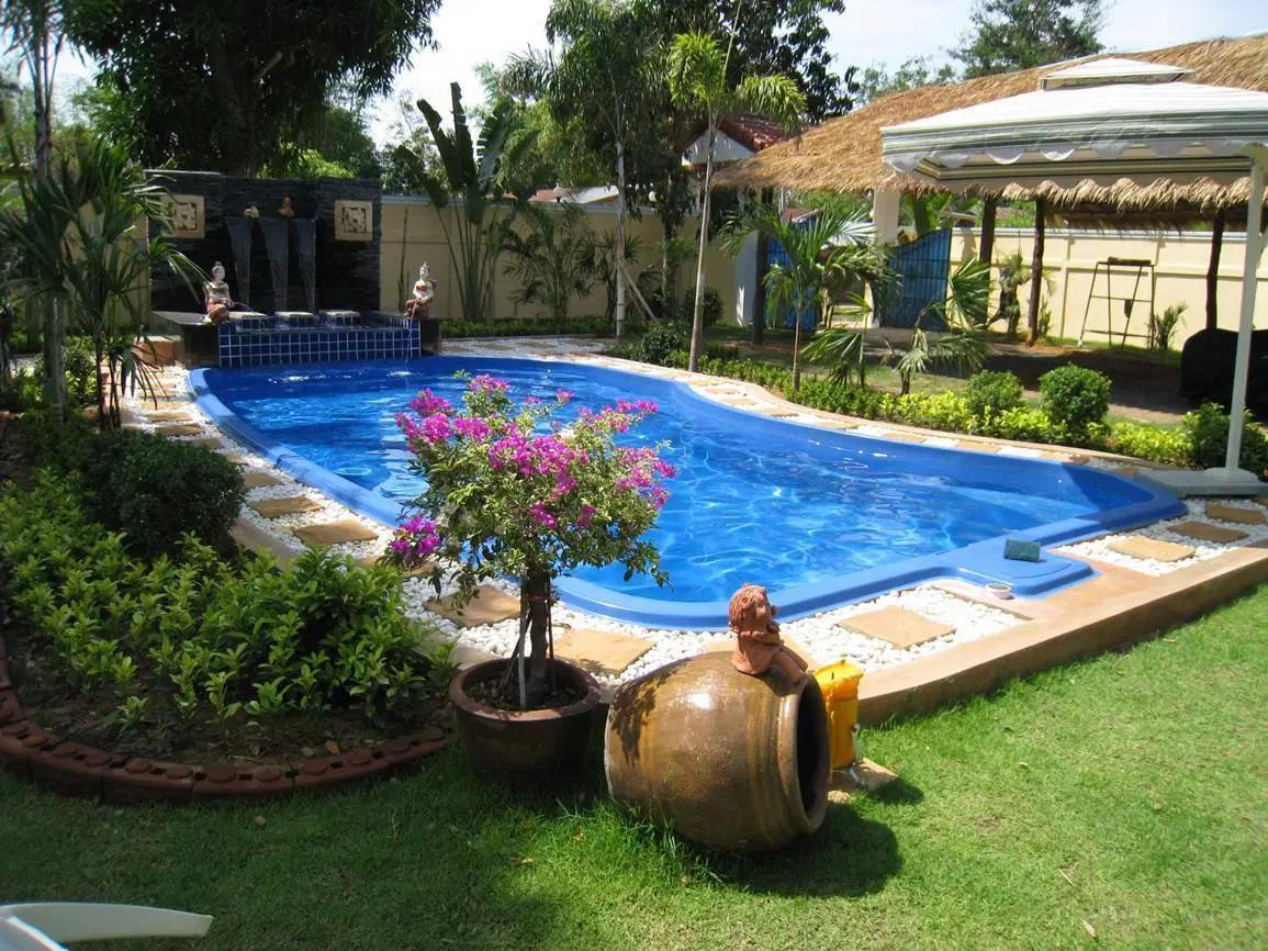 Hướng bể bơi phải thiết kế hợp phong thủy