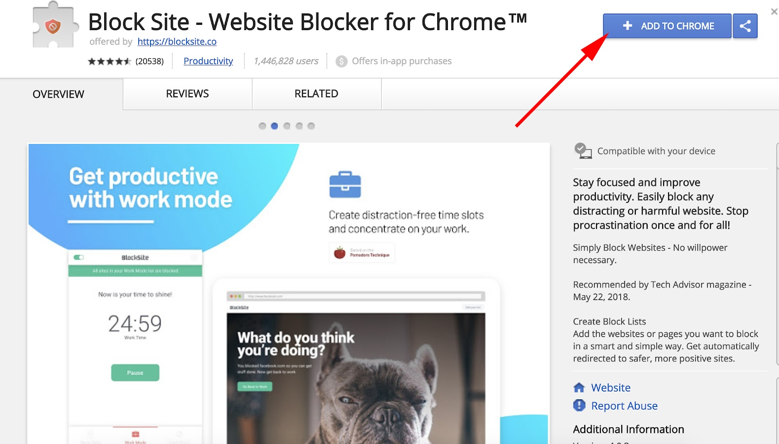 block right click chrome