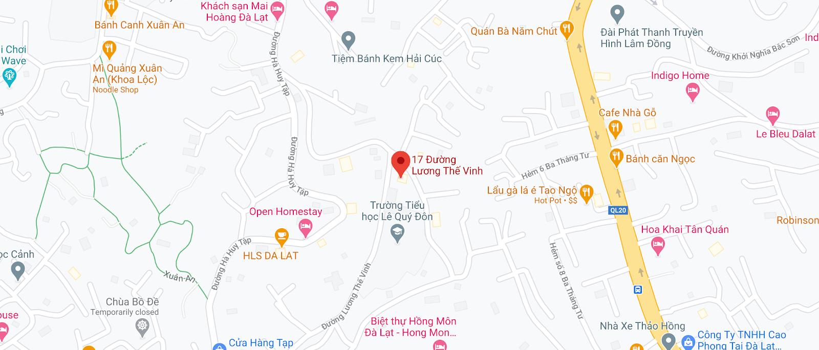 Văn phòng nhà xe Nguyễn Kim tại Đà Lạt