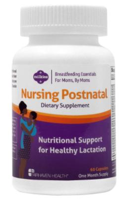 9. Milkies Nursing Postnatal Breastfeeding Multivitamin