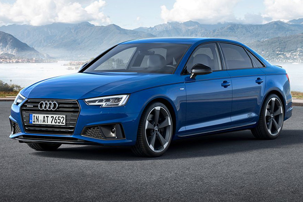 Angular-front-of-the-audi-a4