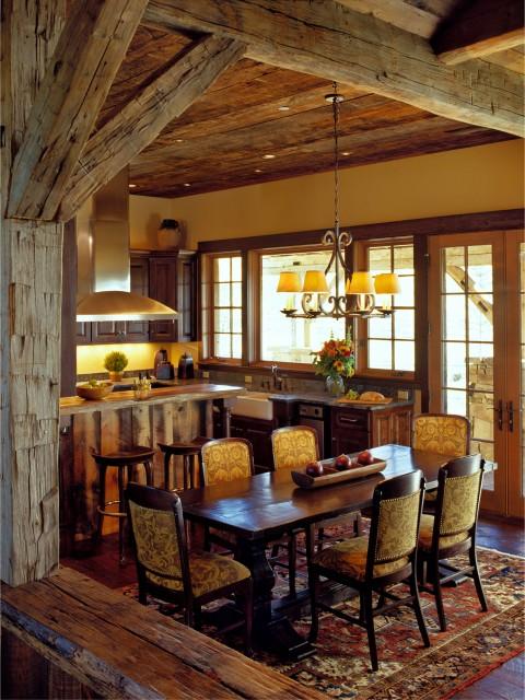 Tengase presente dise os de la cocina r stica perfectas - Diseno casa rustica ...