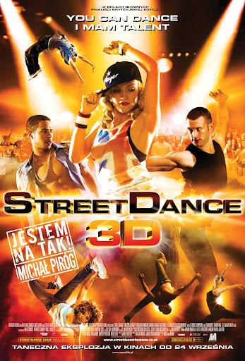 Polski plakat filmu 'StreetDance'