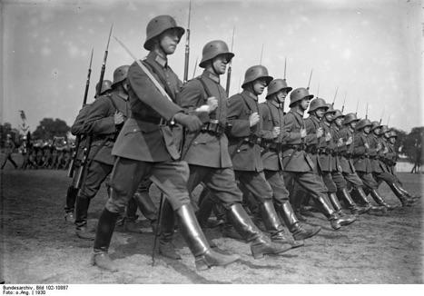 Солдаты рейхсвера