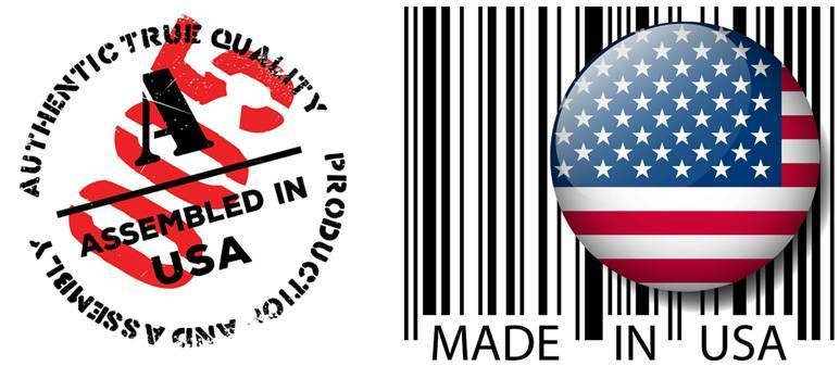 made in usa and assembled in usa