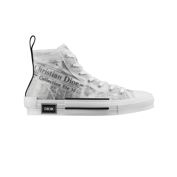 Thanh lịch và sang trọng chính là 2 từ để đánh giá đôi giày của Dior