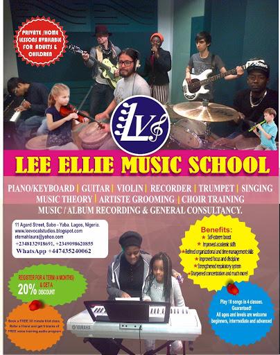 Lee Ellie Music School - The Best Music School in Lagos