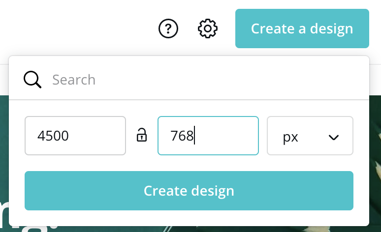 Create a Mix Collection Banner on Canva
