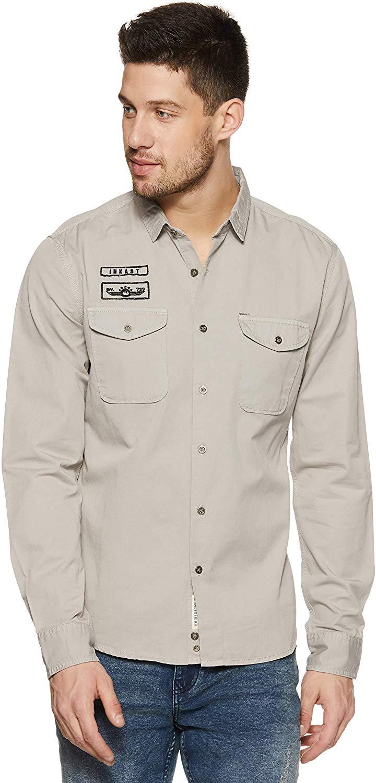 Amazon Brand Inkast Denim Shirt