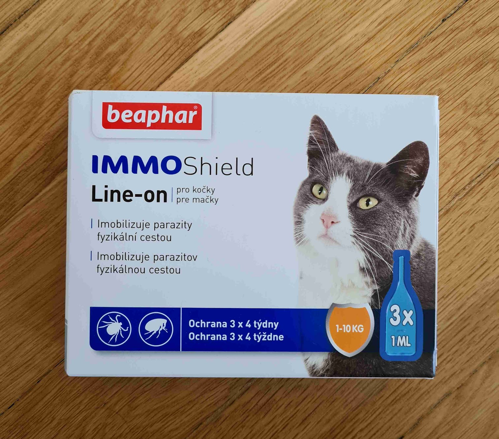 Recenze Superzoo.cz: IMMO Shield Line-on antiparazitikum