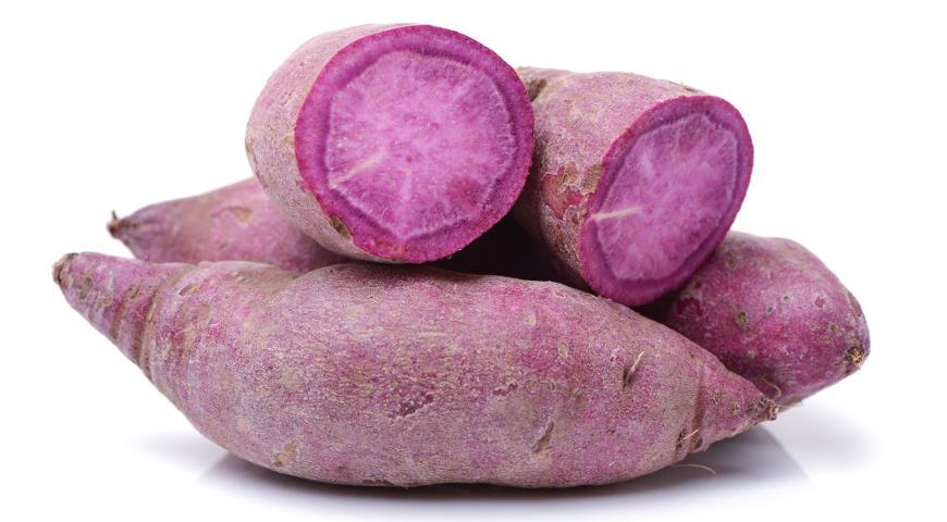 Батат с фиолетовой мякотью
