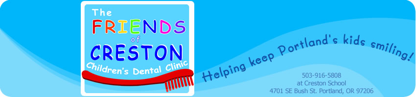 The Friends of Creston Children's Dental Clinic