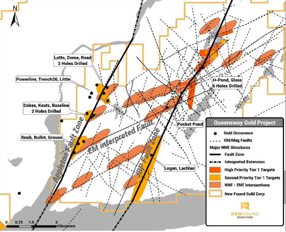 Analyst's Notes: New Found Gold and Excelsior Mining Update Exploration Targets at the Queensway Project