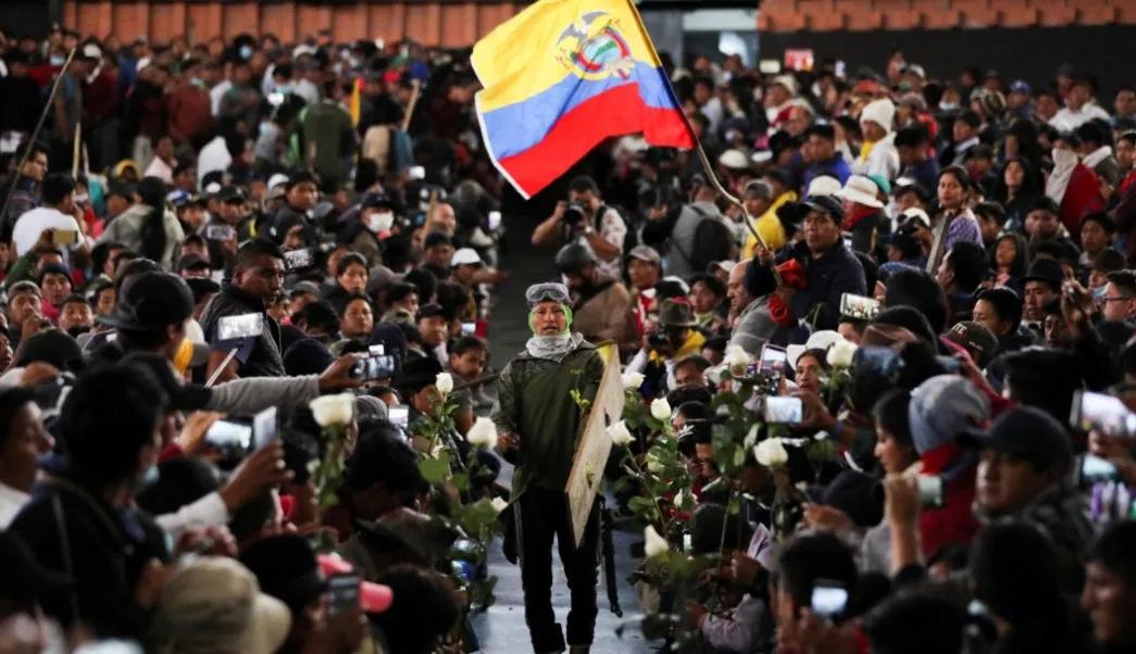 Protestas en Ecuador debido al precio del combustible