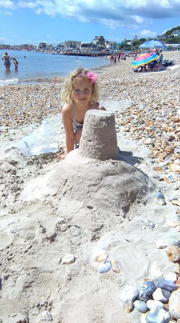 lyme-regis-sandcastle