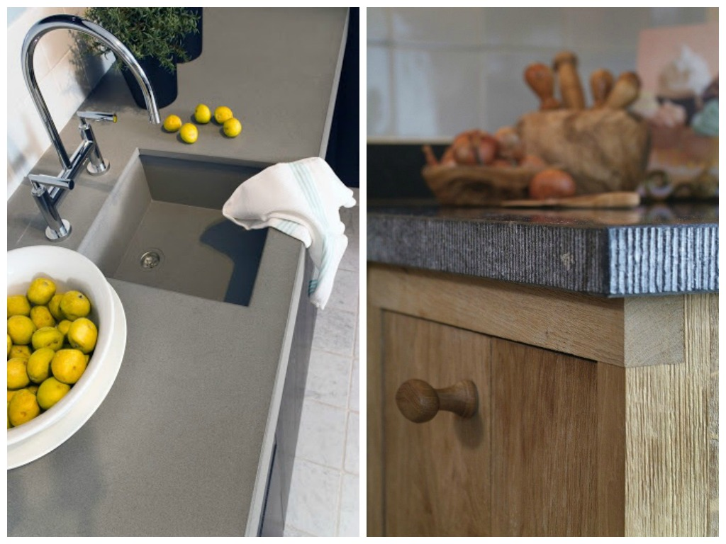 Кухня в цветах: серый, светло-серый, коричневый. Кухня в .