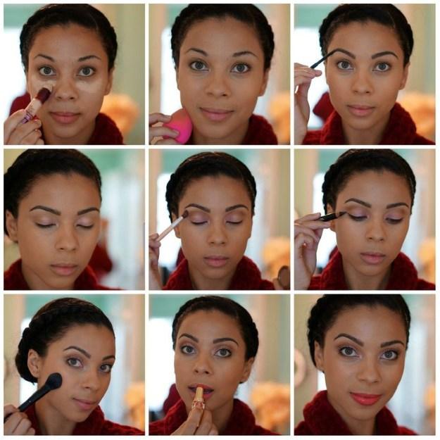 Natural Makeup for Dark Skin | Graduation Makeup Tutorials by http://www.makeuptutorials.com/makeup-tutorials-graduation-beauty-ideas