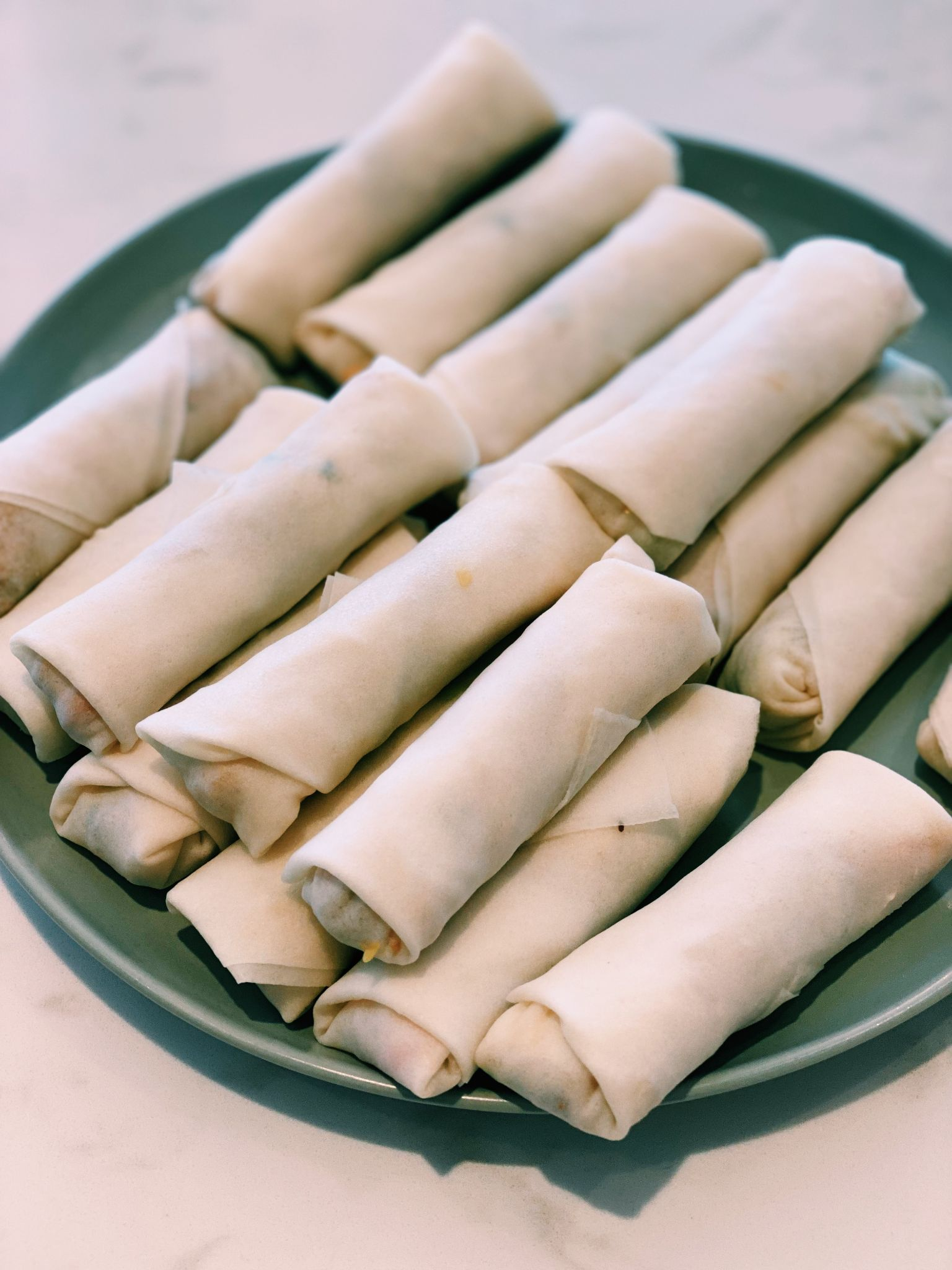 Vegetarian Spring Rolls (CRISPY!)