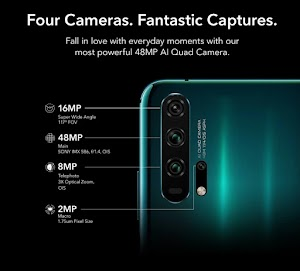 Honor 20 series mobiles launched with Quad Camera, Hole-Punch Display: Price specifications, Flipkart Deals