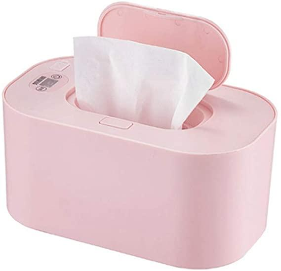 spier Wipe Warmer, Wipe Warmer Wet Wipes Heater with LED Display, Wet Tissue Heating Box and Baby Wet Wipes Dispenser