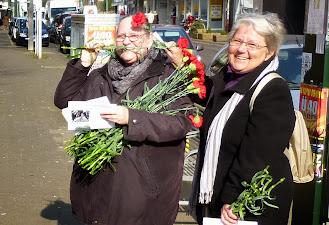 Ute und Inge kandidieren für die Bezirksvertretung 07.