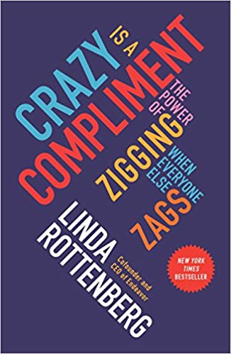 """Livro """"Crazy is a Compliment"""""""