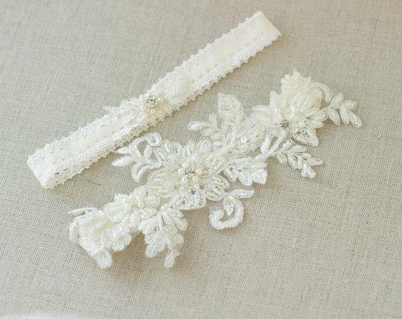 garter toss set lace