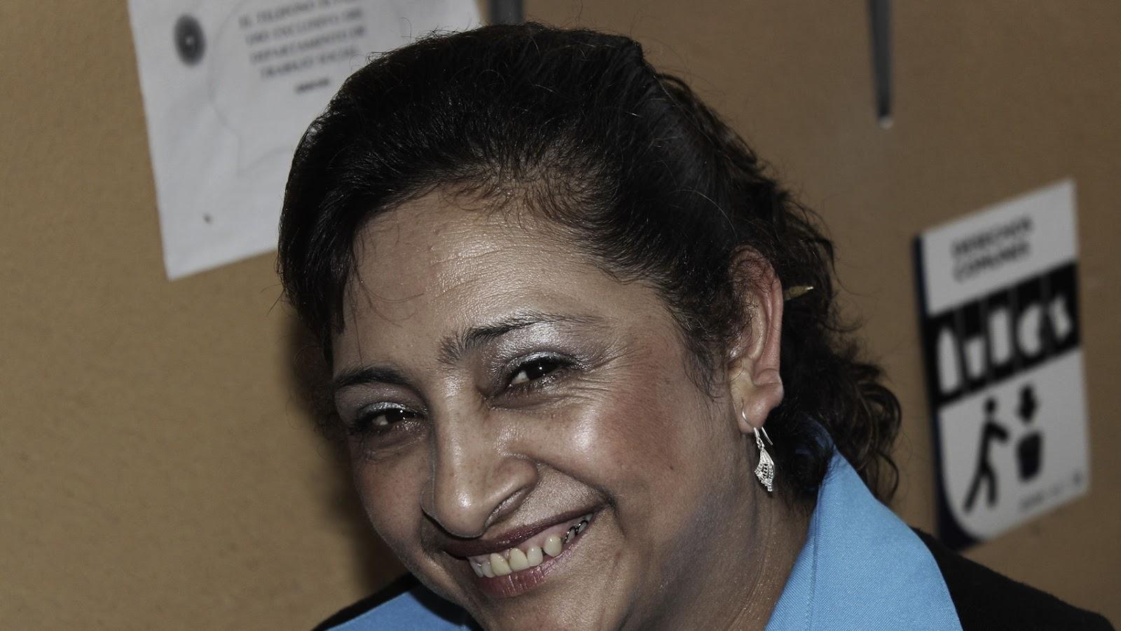 La enfermera Rivera.